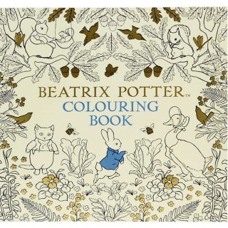 ピーターラビット Beatrix Potter Colouring Book  PR