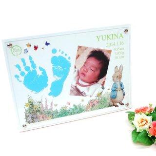 カラフル手形・足型写真立て お仕立て券 PR