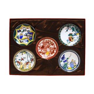 九谷焼小皿(5枚組) PR2140-127 PR
