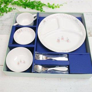 食器&スプーンフォークセット(ドットガールズ)SET-0035 PR