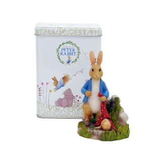 Enesco BP ミニフィギュア(Peter Rabbit in Garden) A28482 PR