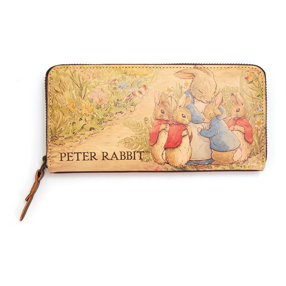 ピングー ラウンドジップ長財布(PETER RABBIT STORY)LOVE PR