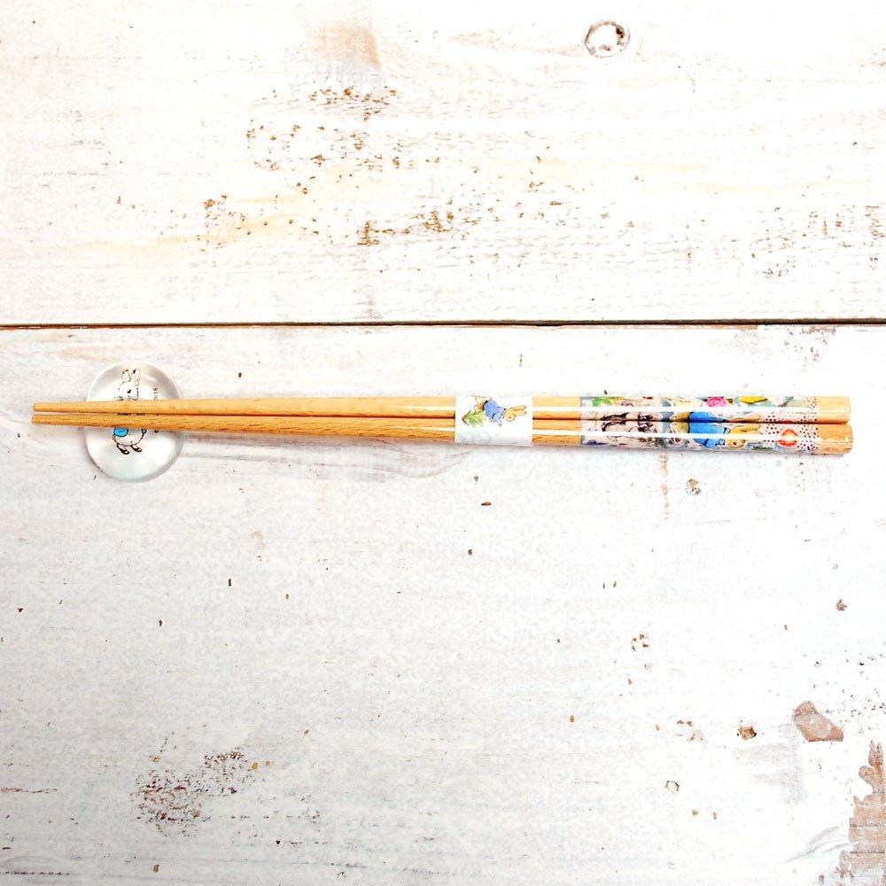 ピングー 箸置(ピーターラビット)ブルー PR