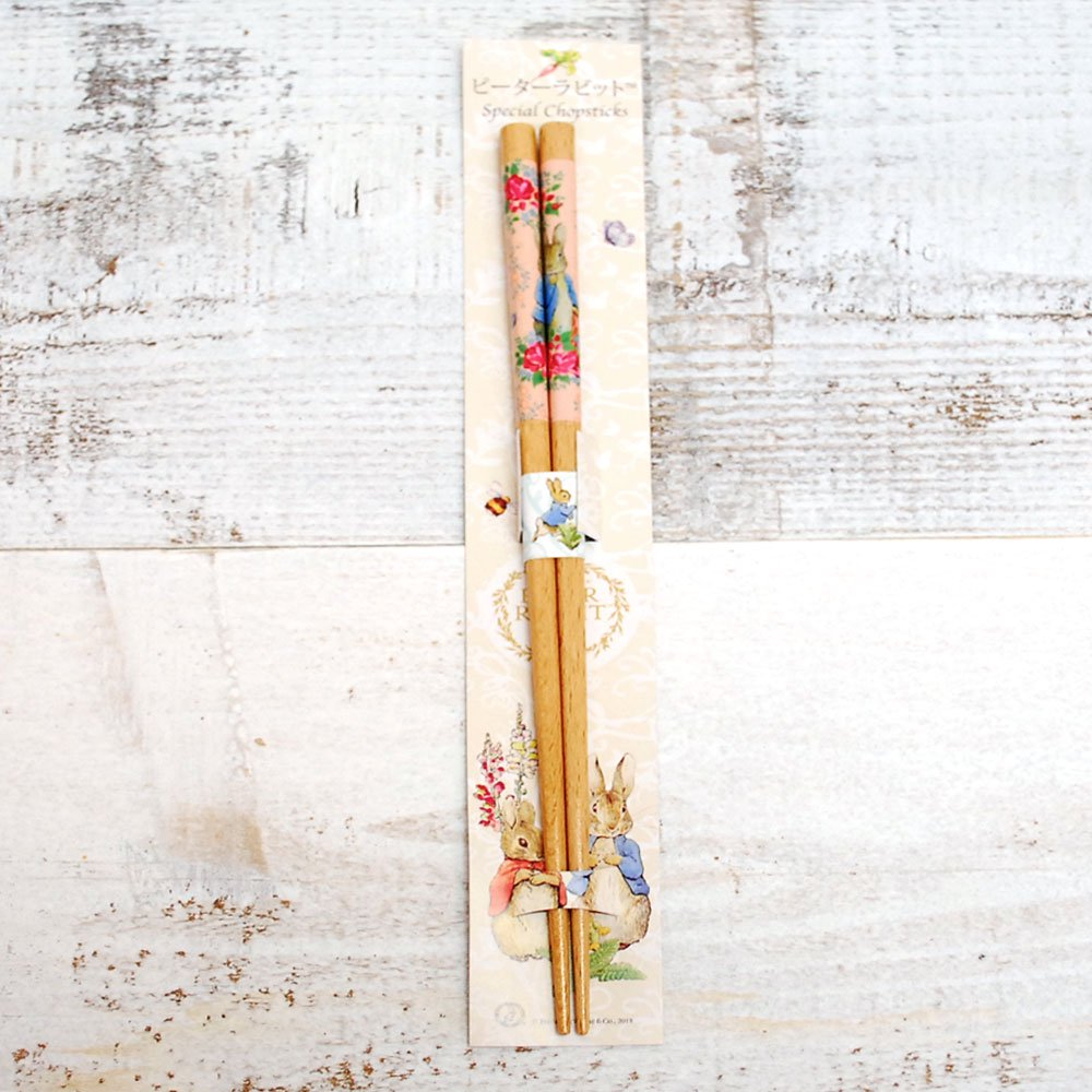 ピングー 箸(食洗 ローズ)レッド PR