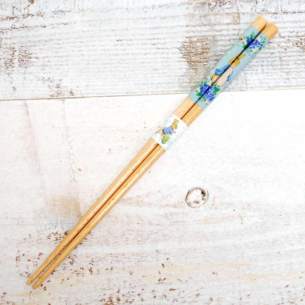 ピングー 箸(食洗 ローズ)ブルー PR