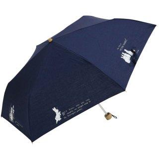 【生産終了品】晴雨兼用折りたたみ傘(tcプリントミニ)ネイビー 8621 PR