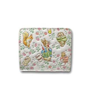【お取り寄せ】ピーターラビット×浅草文庫 二つ折財布(フレンズ) 460385 PR
