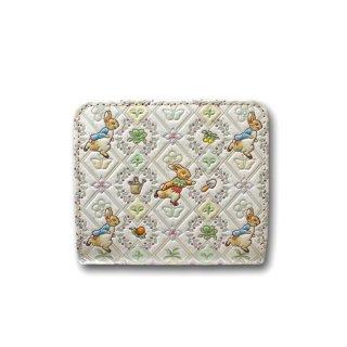 【お取り寄せ】ピーターラビット×浅草文庫 二つ折財布(ガーデン/グリーン) 460388 PR