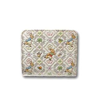 【お取り寄せ】ピーターラビット×浅草文庫 二つ折財布(ガーデン/ピンク) 460391 PR