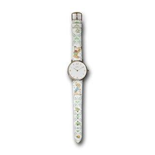 【お取り寄せ】ピーターラビット×浅草文庫 腕時計(ガーデン/グリーン) 460395 PR