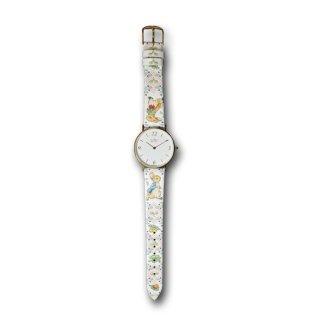 【お取り寄せ】ピーターラビット×浅草文庫 腕時計(ガーデン/ピンク) 460396 PR