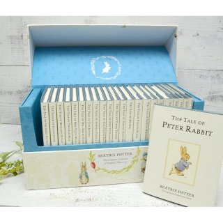 The World of Peter Rabbit  The Complete Collection of Original Tales 1-23 White Jackets  PR