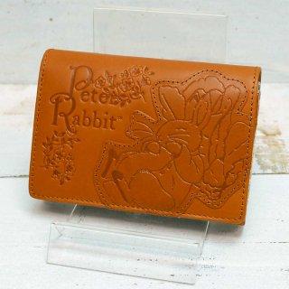二つ折財布(ガーデン)キャメル 85051 PR