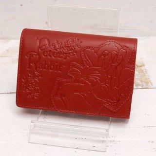 二つ折財布(ガーデン)レッド 85051 PR