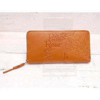 ラウンドジップ長財布(ガーデン)キャメル 85052 PR