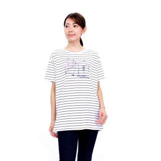 【生産終了品】ランニング丈ロングTシャツ(オフホワイト)L 392102-12 PR