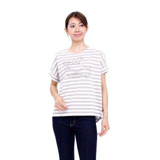 【生産終了品】ジャンピングピーターボーダーTシャツ(ベージュ)L 392104-51 PR
