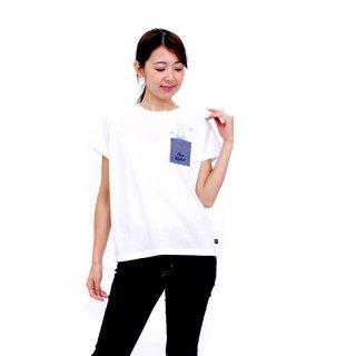 【生産終了品】ポケット付きTシャツ(オフホワイト)M 392106-12 PR