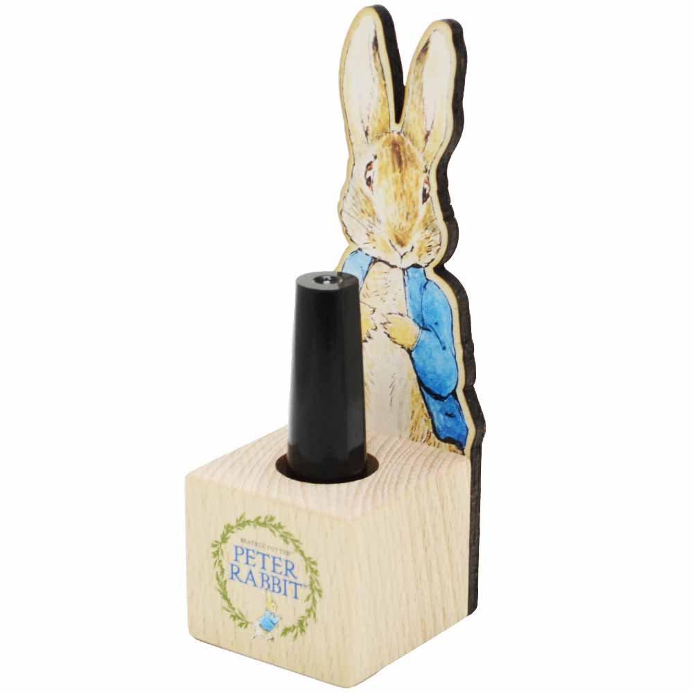ピングー 木製印鑑スタンド(Peter Rabbit)  PR