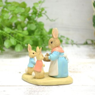 Enesco BP ミニフィギュア(MRS RABBIT FLOPSY & PETER) A29193 PR