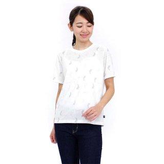 総柄Tシャツ(オフホワイト)L 392123 PR