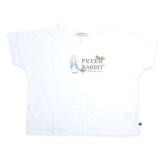 ロゴプリントワイドTシャツ(オフホワイト)L 392125 PR