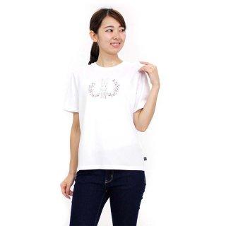 【生産終了品】フラワーTシャツ(オフホワイト)M 392126 PR