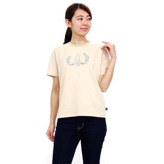 【生産終了品】フラワーTシャツ(ベージュ)L 392126 PR