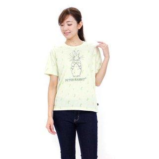総柄Tシャツ(ライトグリーン)LL 392143 PR