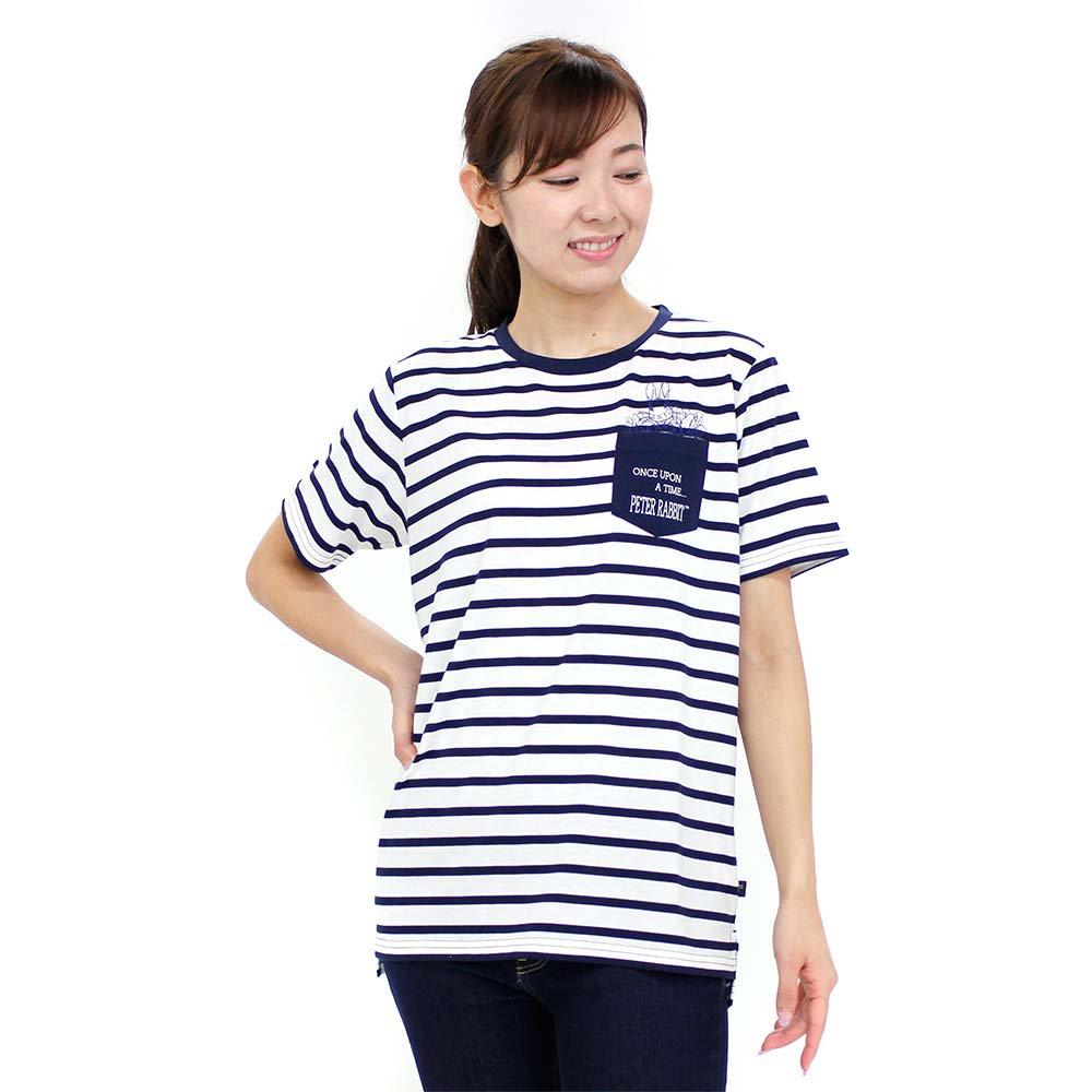 ピングー ポケット付ロング丈Tシャツ(オフホワイト)LL 392144 PR