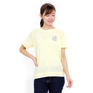 フェイクレイヤードTシャツ(クリーム)L 392145 PR