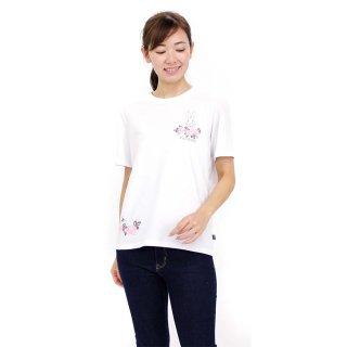 ローズTシャツ(オフホワイト)L 392147 PR