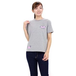ローズTシャツ(グレー)M 392147 PR