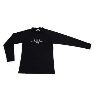ラッシュガードハイネック(ブラック)M 392150 PR
