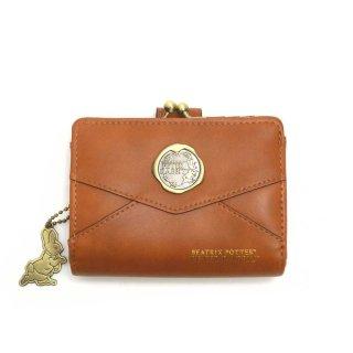 口金札入れ 財布(レター)ブラウン PR-091 PR