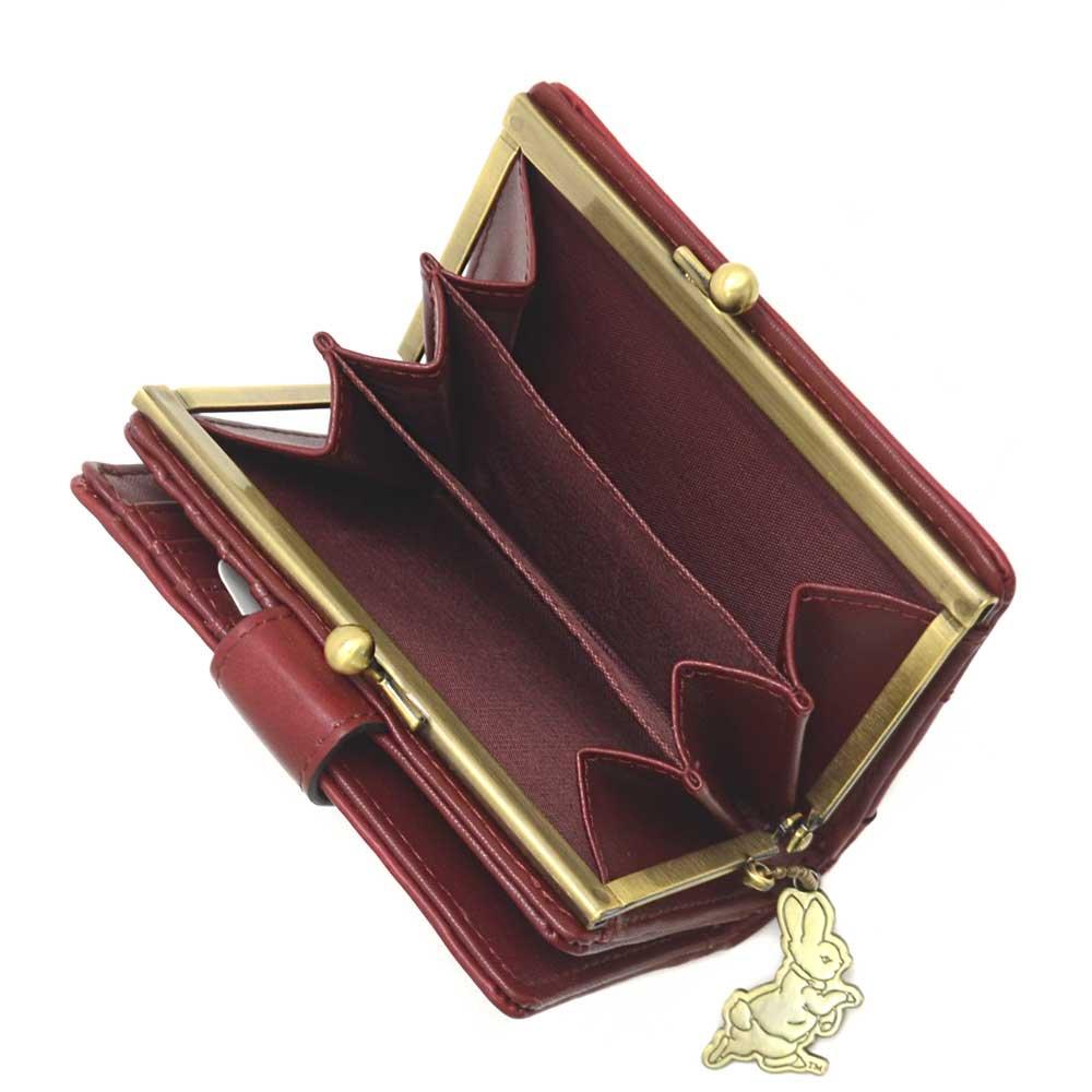 ピングー 口金札入れ 財布(レター)ワイン PR-091 PR