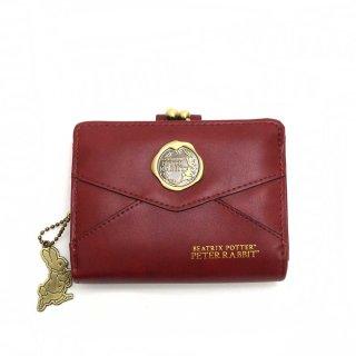 口金札入れ 財布(レター)ワイン PR-091 PR