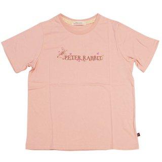 フラワーロゴTシャツ(ピンク)L 392161-41 PR