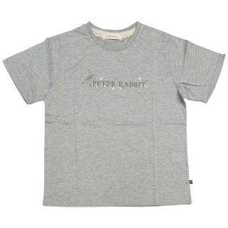 フラワーロゴTシャツ(杢グレー)L 392161-93 PR