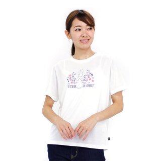 お花畑ピーターTシャツ(オフホワイト)LL 392162-12 PR