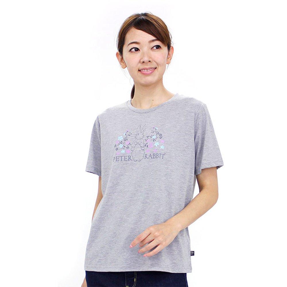 お花畑ピーターTシャツ(杢グレー)L 392162-93 PR グッズ