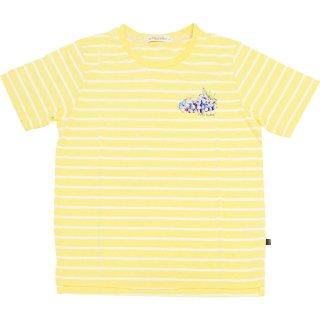 グレープボーダーTシャツ(クリーム)LL 392164-21 PR