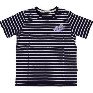 グレープボーダーTシャツ(ネイビー)L 392164-84 PR
