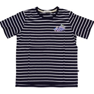 グレープボーダーTシャツ(ネイビー)LL 392164-84 PR