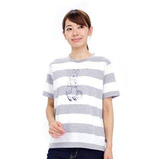 ボーダーTシャツ(杢グレー)L 392165-93 PR