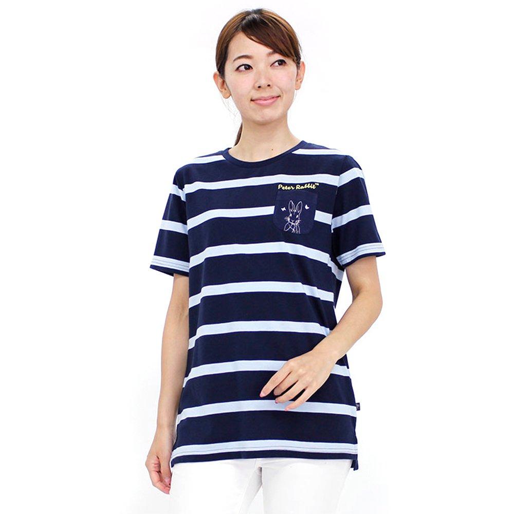 ポケット付ロングTシャツ(ネイビー)LL 392168-84 PR グッズ