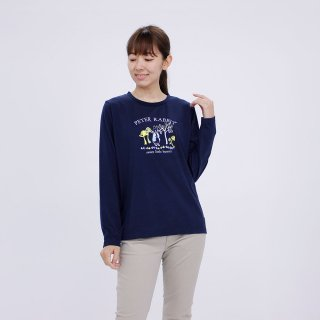 マジカルフォレスト長袖Tシャツ(ネイビー)L 394101-84 PR