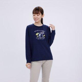 マジカルフォレスト長袖Tシャツ(ネイビー)LL 394101-84 PR