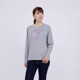 マジカルフォレスト長袖Tシャツ(杢グレー)LL 394101-93 PR