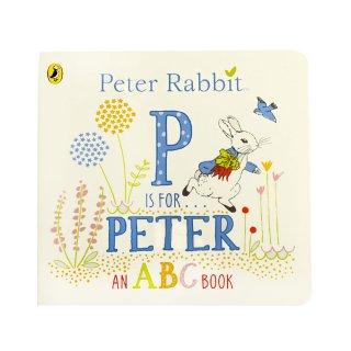 【英語のえほん】P is for Peter (Board Book)  PR
